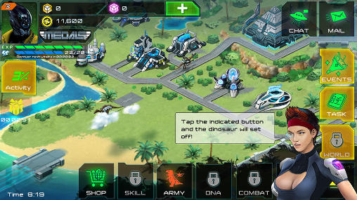 Dino raiders: Jurassic crisis screenshot 1