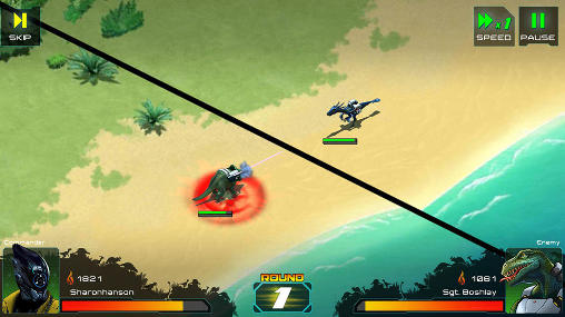 Dino raiders: Jurassic crisis screenshot 4