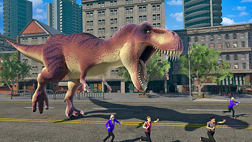 Get full version of Android apk app Dino rampage 3D for tablet and phone.