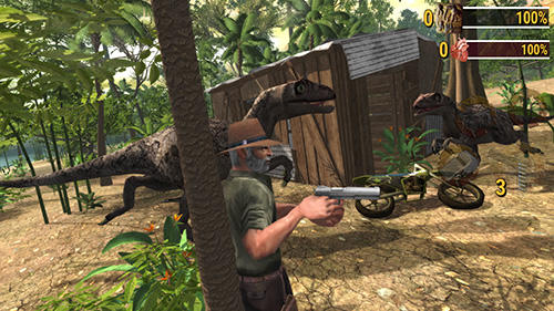 Screenshots von Dino safari: Evolution für Android-Tablet, Smartphone.