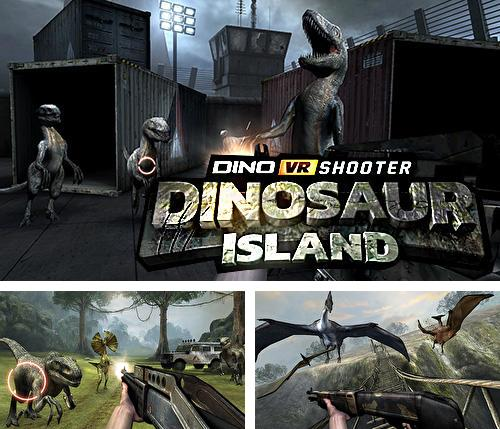 In addition to the game Justice league VR: Join the league for Android phones and tablets, you can also download Dino VR shooter: Dinosaur hunter jurassic island for free.