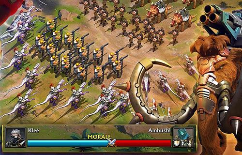 jeu de guerre android gratuit