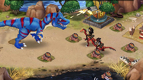 Dino wars screenshot 3