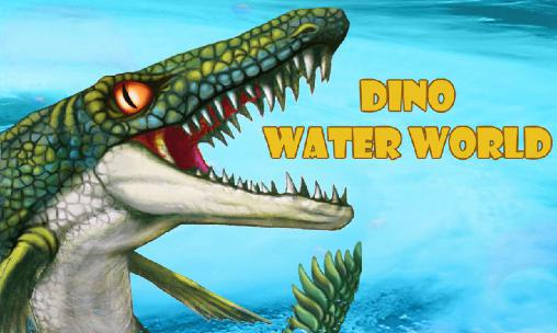 Dino water world poster