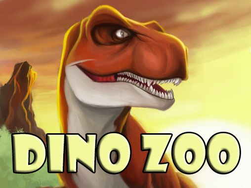 Dino zoo poster