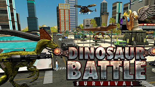 Dinosaur battle survival обложка