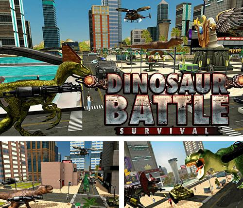 Dinosaur battle survival