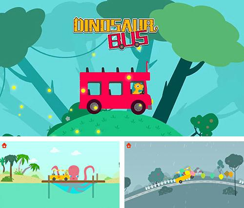 In addition to the game Dinosaur bus for Android, you can download other free Android games for BRAVIS NB75.