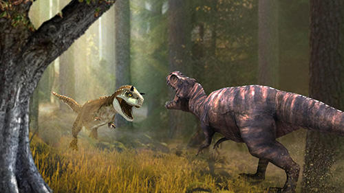 Screenshots von Dinosaur era: Survival game für Android-Tablet, Smartphone.