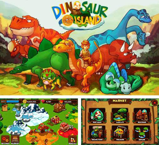 In addition to the game Saving Hamster Go Go for Android phones and tablets, you can also download Dinosaur island for free.