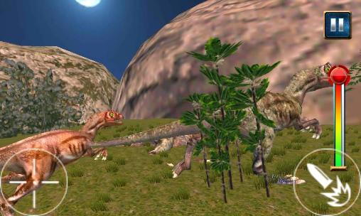 Screenshots do Dinosaur: Sniper reborn 2015 - Perigoso para tablet e celular Android.