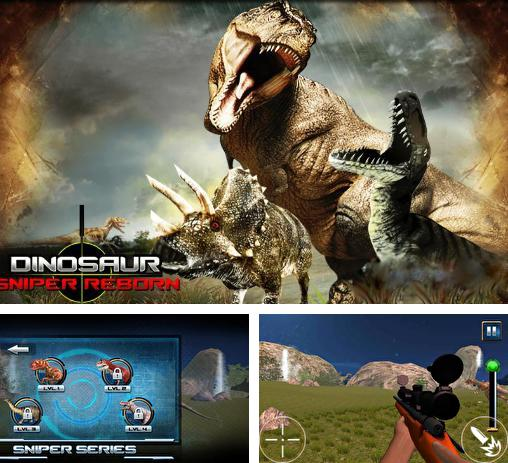 In addition to the game DinoFight for Android phones and tablets, you can also download Dinosaur: Sniper reborn 2015 for free.