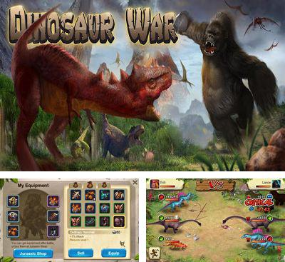 In addition to the game DinoFight for Android phones and tablets, you can also download Dinosaur War for free.