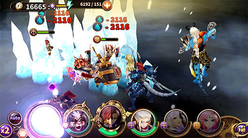 Screenshots von Diosa force 2: Salvation für Android-Tablet, Smartphone.