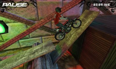 Геймплей Dirt Bike Evo для Android телефону.
