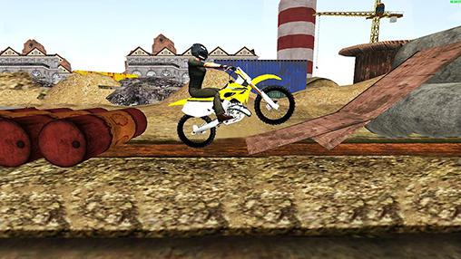 Dirt bike: Extreme stunts 3D скриншот 2