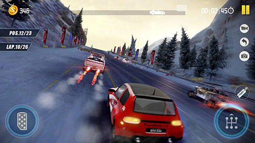 Screenshots von Dirt car racing: An offroad car chasing game für Android-Tablet, Smartphone.