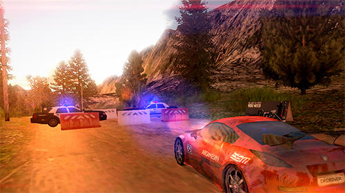 Screenshots von Dirt rally driver HD für Android-Tablet, Smartphone.
