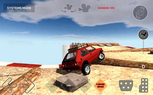 Juega a Dirt trucker 2: Climb the hill para Android. Descarga gratuita del juego Camionero en camino intransitable 2: Sube a la colina.