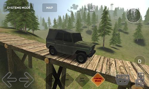 Скріншот гри Dirt trucker: Muddy hills на Андроїд планшет і телефон.