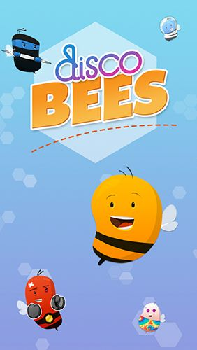 Disco bees poster