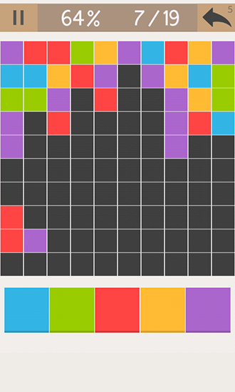 Screenshots von Discolor: Addictive puzzle für Android-Tablet, Smartphone.