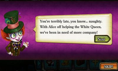 Download Disney Alice in Wonderland Android free game.