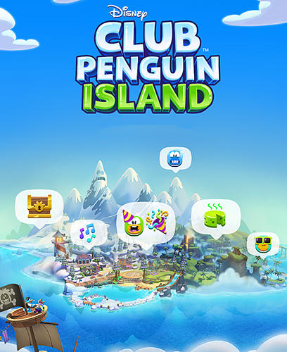 Disney. Club penguin island poster
