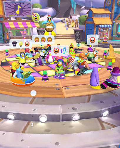 Disney. Club penguin island screenshot 2