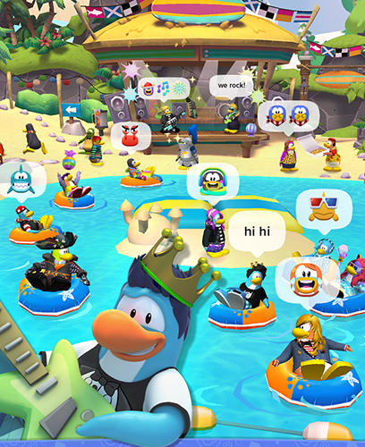 Disney. Club penguin island screenshot 3