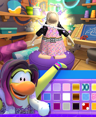 Disney. Club penguin island screenshot 4
