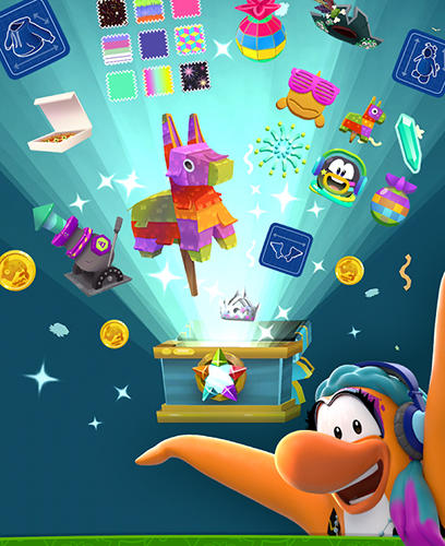 Disney. Club penguin island screenshot 5
