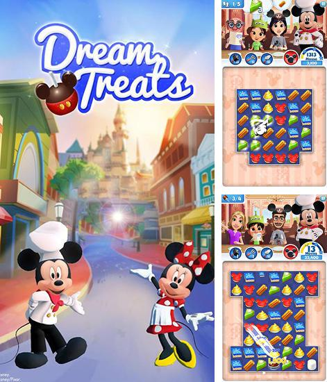 En plus du jeu Disney: Bon dino pour téléphones et tablettes Android, vous pouvez aussi télécharger gratuitement Disney: Friandises magiques: Triez les bonbons, Disney: Dream treats. Match sweets.