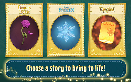 Screenshots von Disney: Enchanted tales für Android-Tablet, Smartphone.