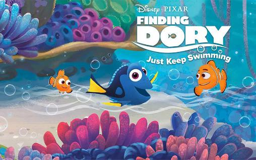 Disney. Finding Dory: Just keep swimming обложка
