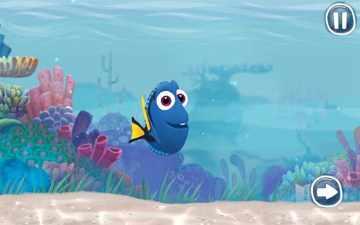 Juega a Disney. Finding Dory: Just keep swimming para Android. Descarga gratuita del juego Disney. En busca de Dory. Simplemente sigue el camino .