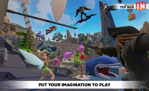Jogue Disney infinity: Toy box 3.0 para Android. Jogo Disney infinity: Toy box 3.0 para download gratuito.
