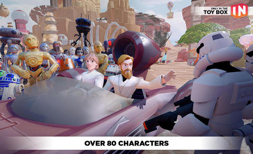 Screenshots do Disney infinity: Toy box 3.0 - Perigoso para tablet e celular Android.