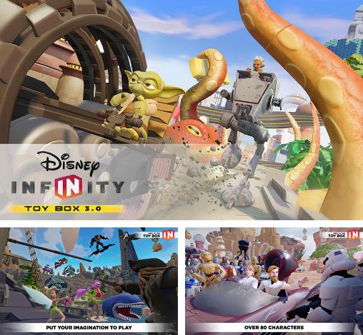 In addition to the game Disney infinity: Toy box 3.0 for Android, you can download other free Android games for Manta MID709.