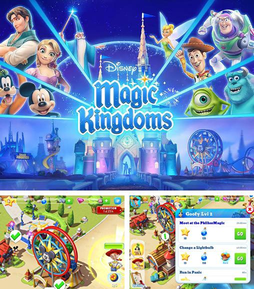 In addition to the game Disney Alice in Wonderland for Android phones and tablets, you can also download Disney: Magic kingdoms for free.