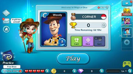 Screenshots von Disney: Magical dice für Android-Tablet, Smartphone.