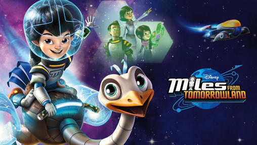Disney: Miles from Tomorrowland. Race poster