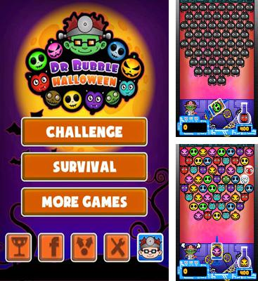 In addition to the game Hank Hazard. The Stunt Hamster for Android phones and tablets, you can also download Doctor Bubble Halloween for free.