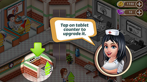 Screenshots von Doctor dash: Hospital game für Android-Tablet, Smartphone.