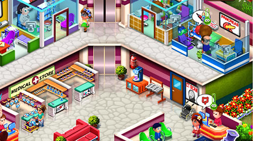 Screenshots von Doctor mania: Hospital game für Android-Tablet, Smartphone.