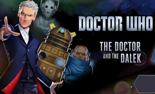 Doctor Who: The Doctor and the Dalek обложка