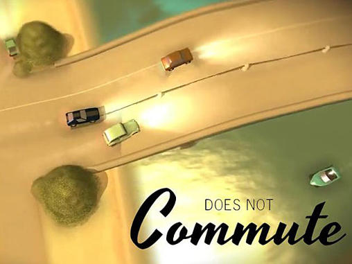 Does not commute poster