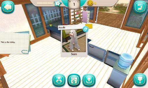 Screenshots von Dog hotel: My boarding kennel für Android-Tablet, Smartphone.