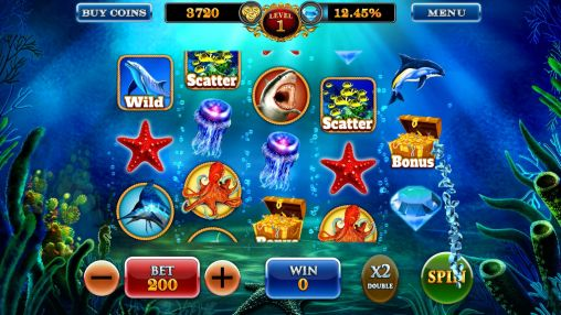Dolphin treasures slots pokies screenshot 2