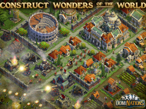 Kostenloses Android-Game DomiNations. Vollversion der Android-apk-App Hirschjäger: Die DomiNations für Tablets und Telefone.